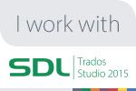We use SDL Trados Software